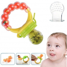 Fresh Food Fruit Baby Feeder, Pacifier and Rattle