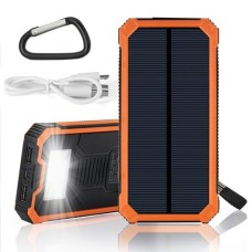 20000mAh Solar Power Bank with Torch Flash Light