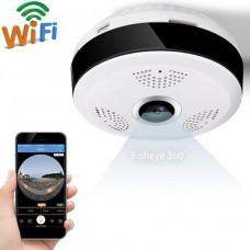 Panoramic 360 Degree FishEye WiFi Camera