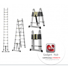 Telescopic Collapsible Aluminum Ladder - 5meters
