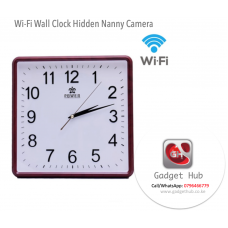 WiFi Clock Hidden Camera