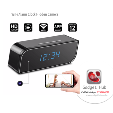 WiFi Hidden Camera On Desk Clock