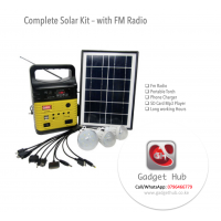 Complete Solar Kit with Stereo