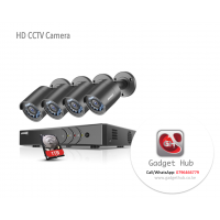 CCTV solution - 4 Channels